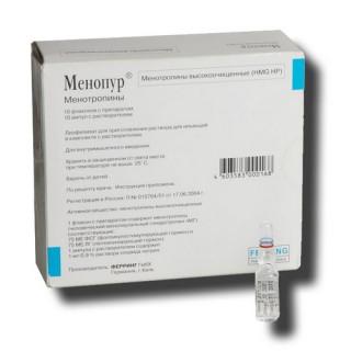 Как проводить стимуляцию овуляции Менопуром?