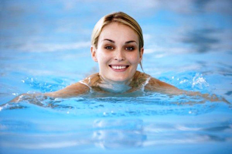 Плавать нужно в свое удовольствие