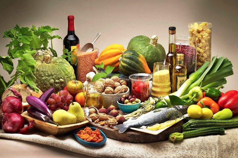 Продукты входящие в средиземноморскую диету