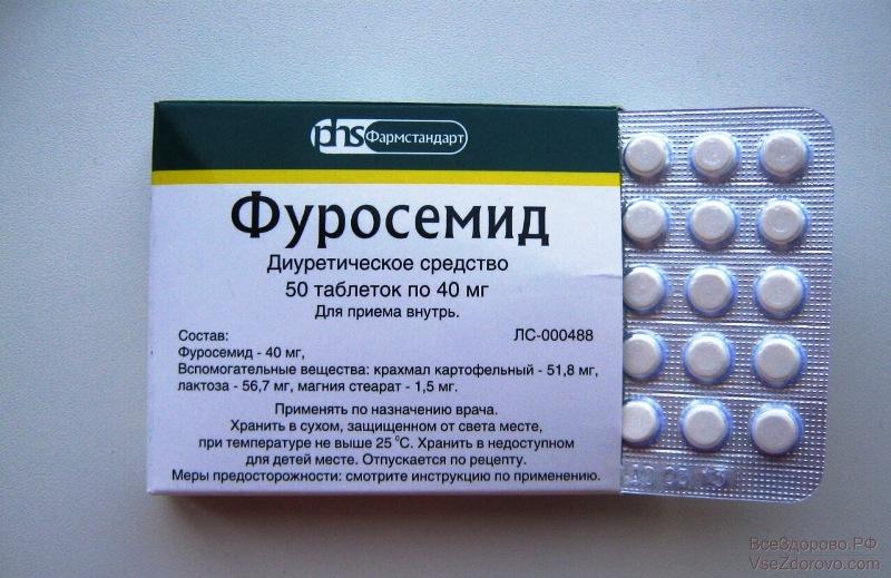Таблетированная форма Фуросемида