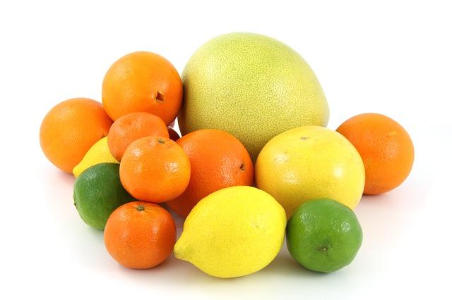 Цитрусовые, фрукты, аллергия на цитрусовые