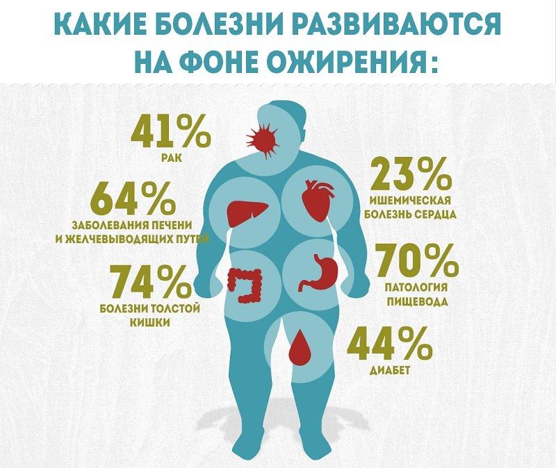 Статистика ожирения в мире неумолима и в этом большая часть вины лежит на плечах каждого человека.