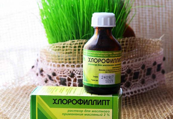 Хлорофиллипт в упаковке