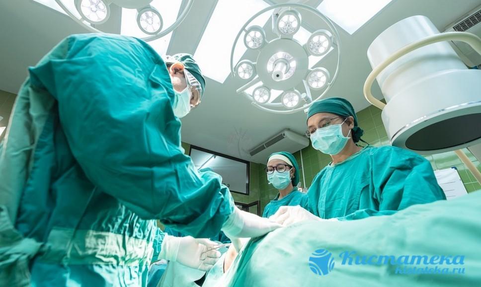 Операция проводится, если капсула достигла большого размера