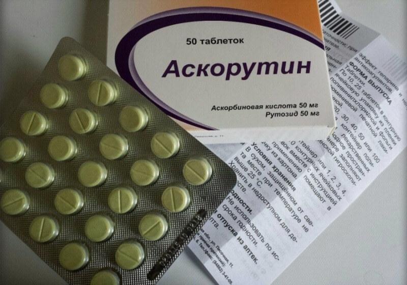 Аскорутин для профилактики заболеваний вен