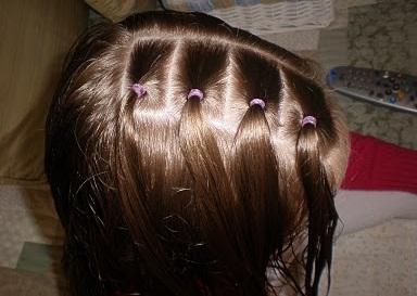 какую прическу сделать ребенку на длинные волосы