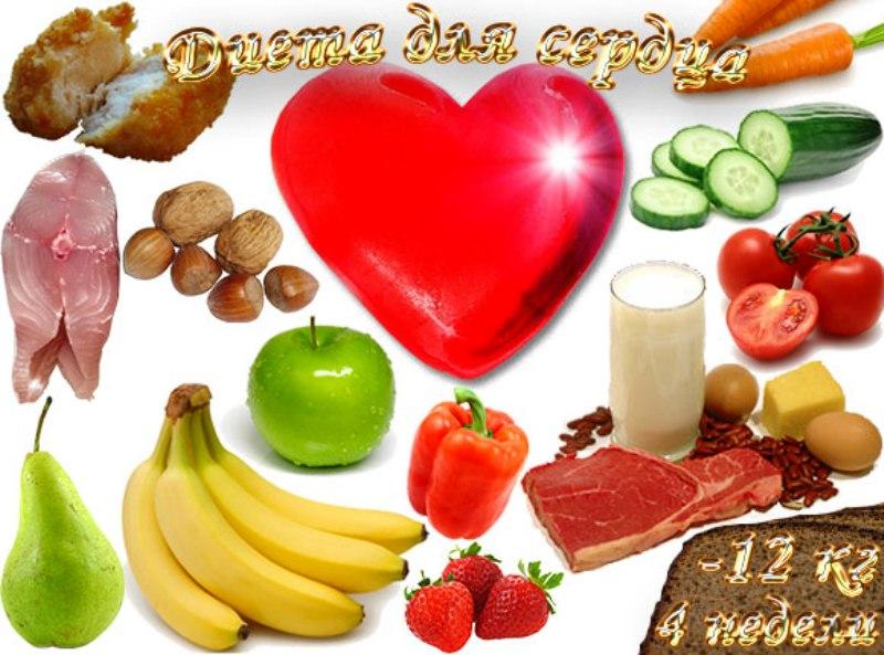 Набор продуктов для сердечников