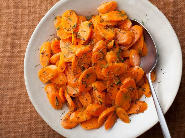 вареная морковка