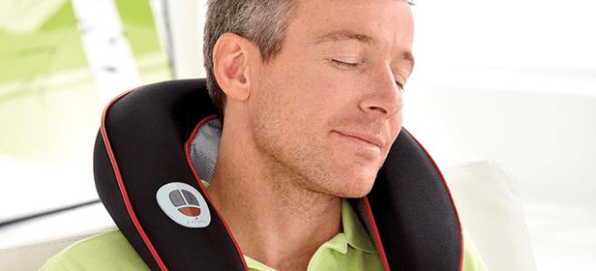 Польза массажера для шеи при остеохондрозе