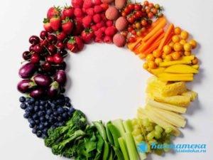 Показана щадящая диета, в которой должны преобладать овощи, фрукты