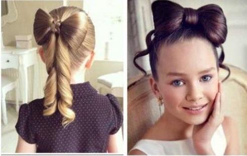 Прически на новый год ребенку на длинный волос