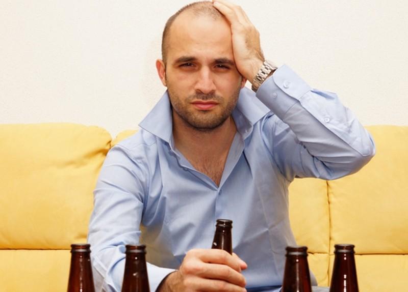 Головокружение после алкоголя
