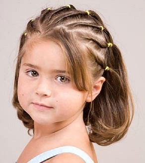 Прически детям на короткие волосы