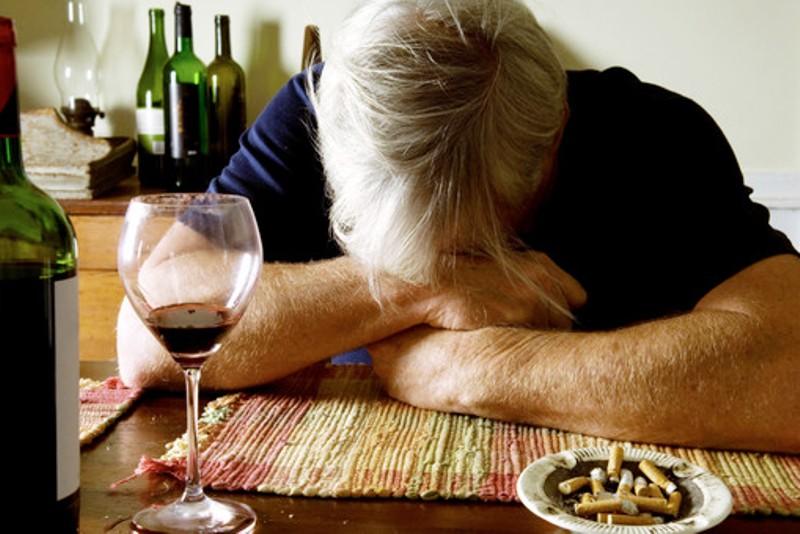 Пьянство и табакокурение