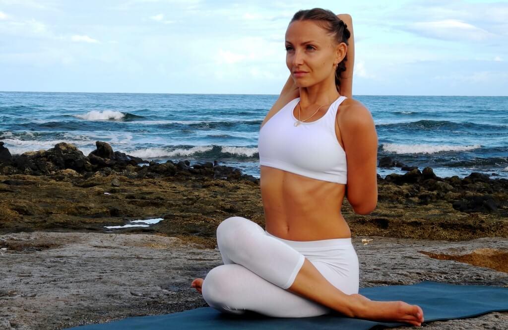 Упражнение йоги для лечения варикоза