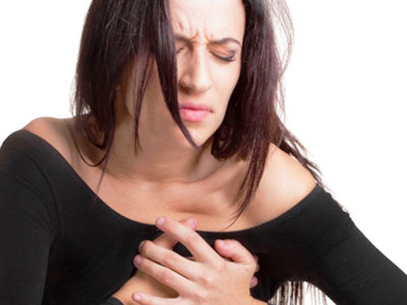 Сильная грудная боль