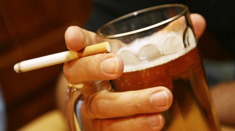 Спиртные напитки и курение