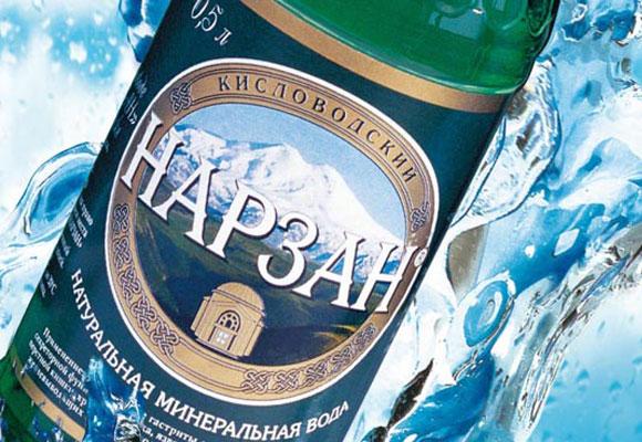 Бутылка Нарзана