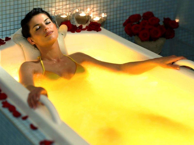 Успокаивающая ванная с маслами