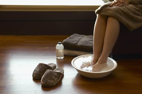 Ванночка с добавлением соды
