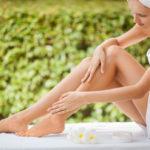 Осветление волос на ногах гидроперитом