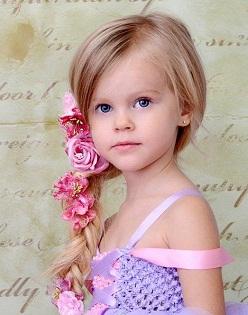 прически детям на длинные волосы