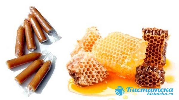 Тампоны с мёдом используются ежедневно