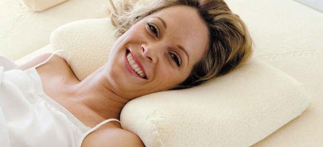 Правила подбора подушки при шейном остеохондрозе