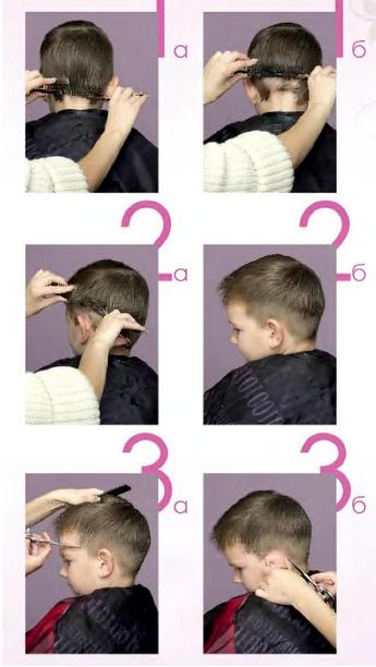 Как самой подстричь волосы ребенку ножницами