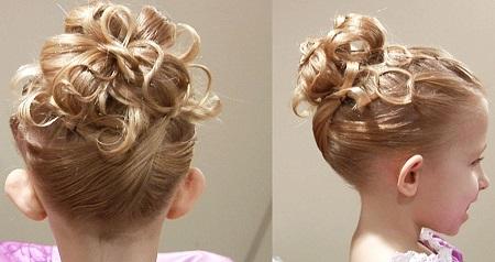 Как красиво накрутить волосы ребенку