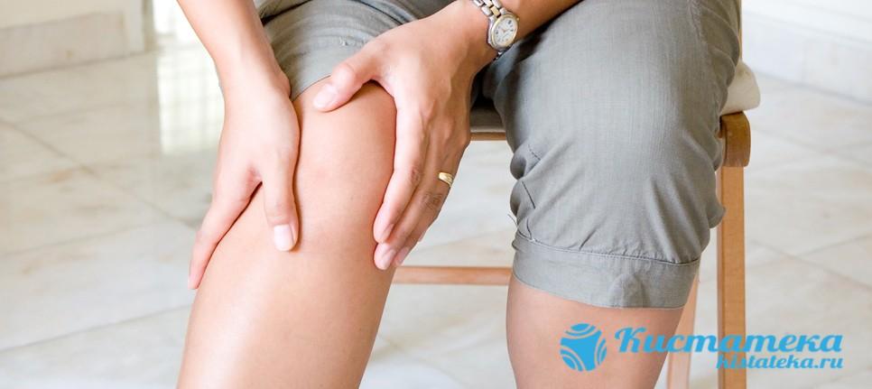 Киста Бейкера является грыжей в области коленного сустава или в подколенной ямке