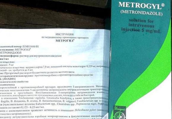 Инструкция к лекарству Метрогил