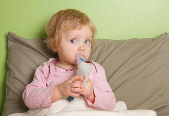 Ингаляционная процедура ребенку