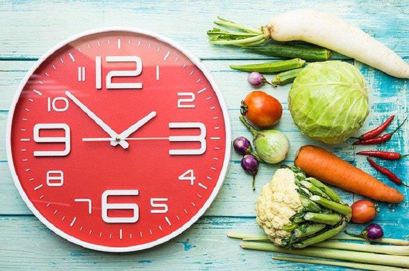 Все приемы пищи старайтесь употреблять в одно и то же время.