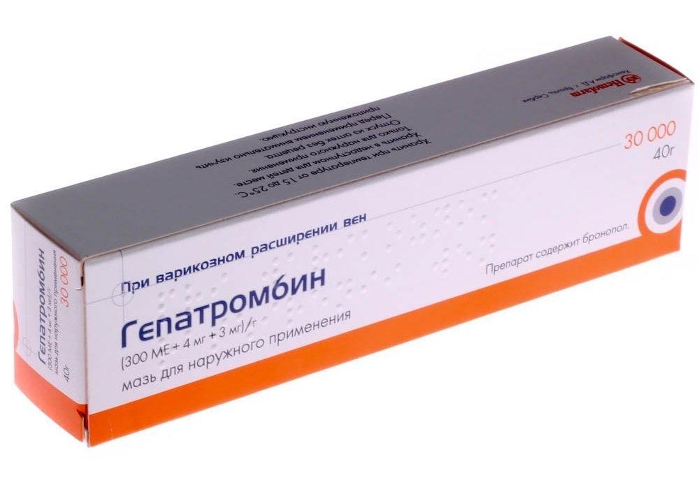 Как применять Гепатромбин?