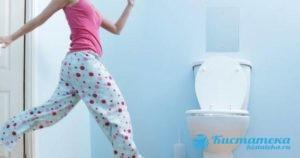 Частое мочеиспускание из-за давления кисты на стенки мочевого пузыря