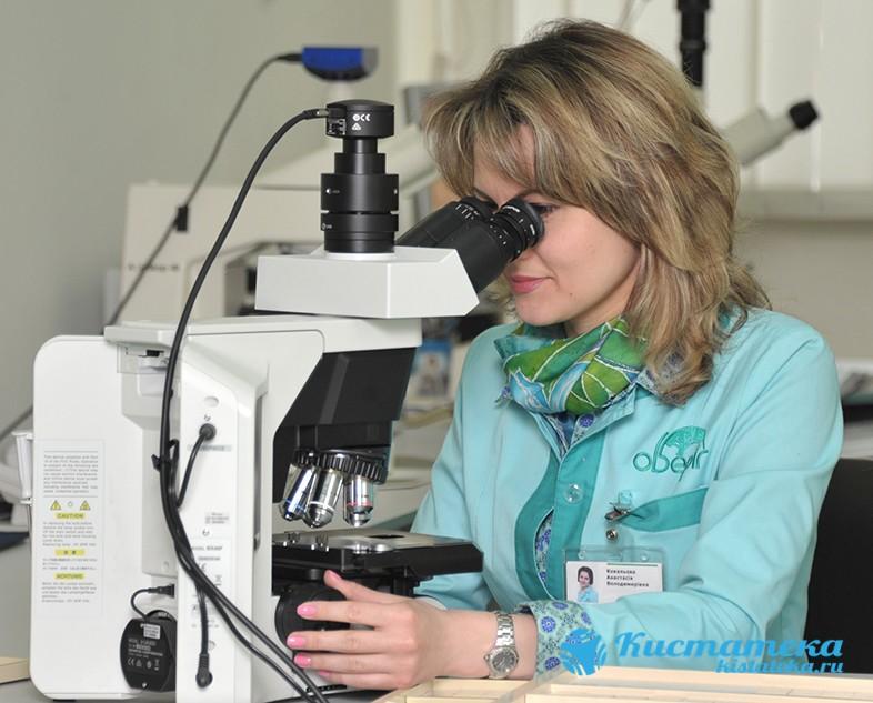 Опуоль после операции обязательно отправляют на гистологию или цитологию