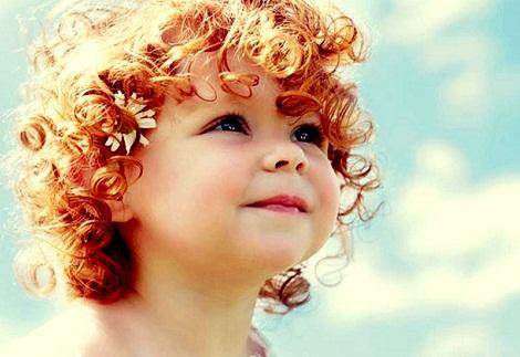 Рыжие волосы у детей