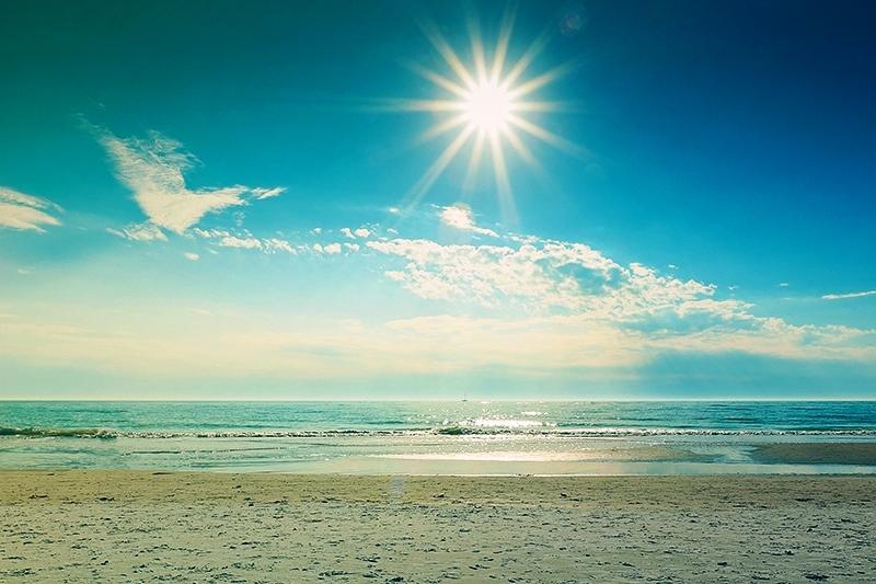 Воздух, солнце и вода!