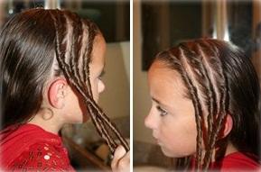 Сделать прическу ребенку на длинные волосы