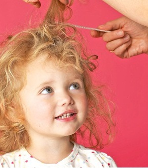 прически детям на кудрявые волосы