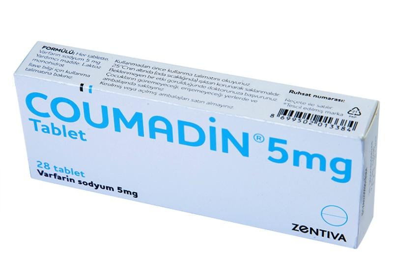 Кумадин в таблетках