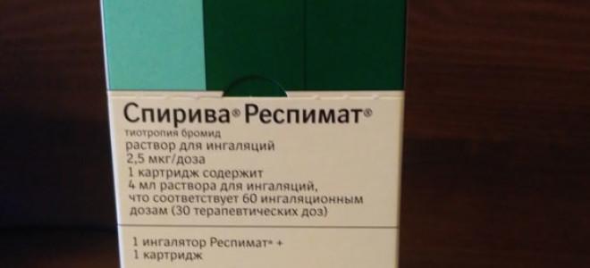 Инструкция по применению Спирива Респимат