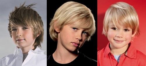 Как подстригать ножницами волосы детям