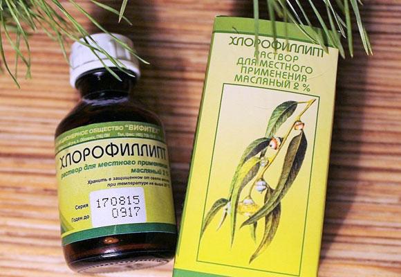 Лекарственный препарат Хлорофиллипт