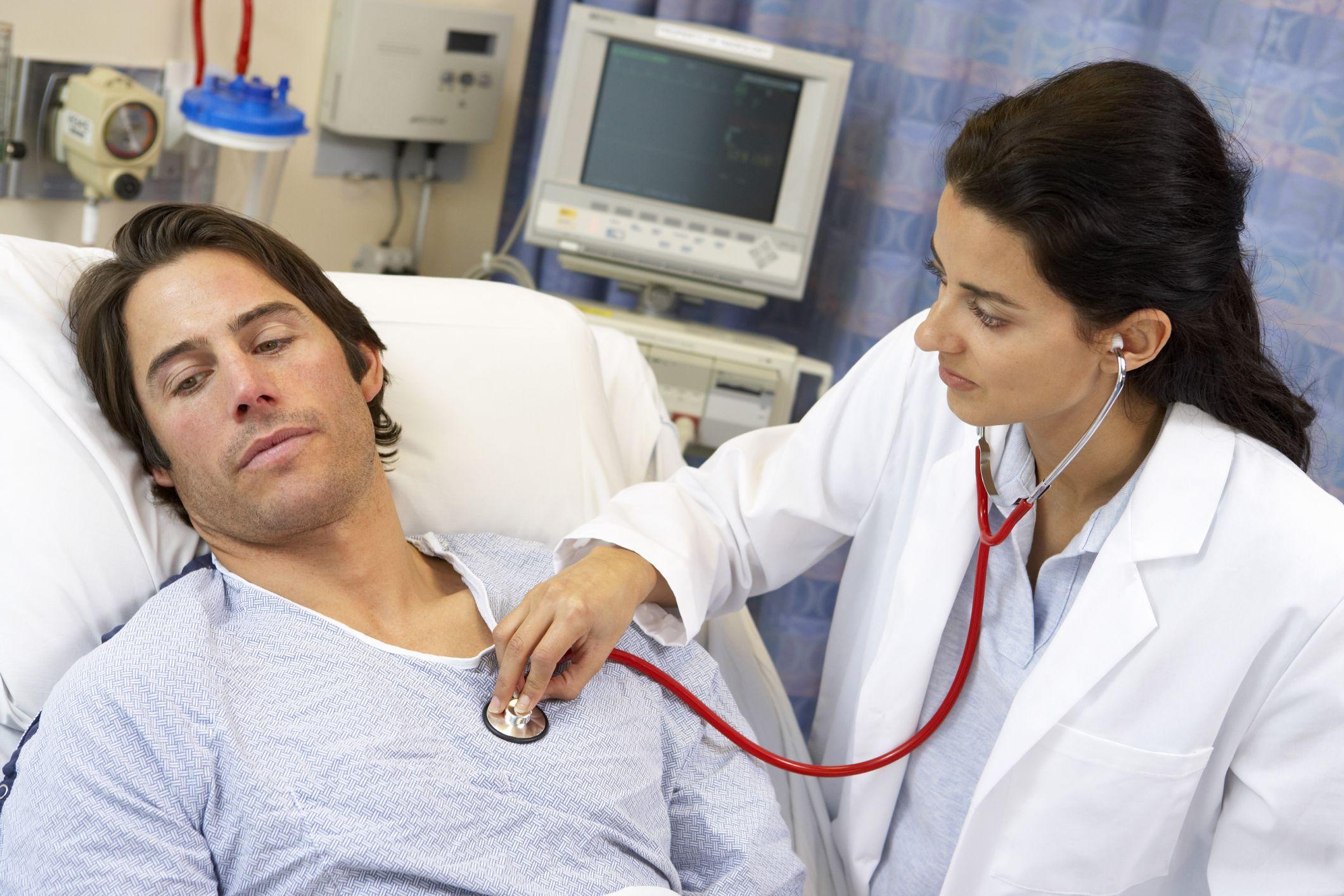 При постельном режиме исключаются повышенные нагрузки на сердце