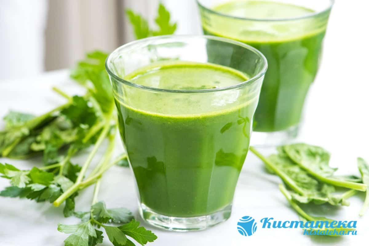 Сок из листьев лопуа принимают трижды в день