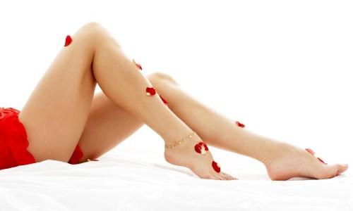 Гладкие ноги после депиляции