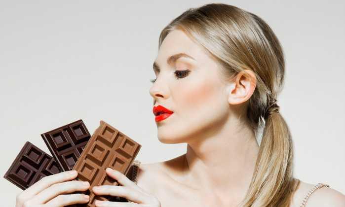 нельзя шоколад
