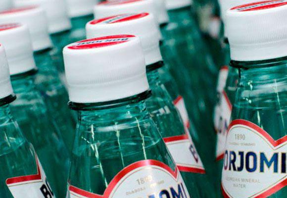 Бутылки с Баржоми